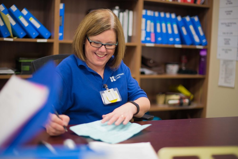 A day in the life of a health care aide   - The Vital Beat