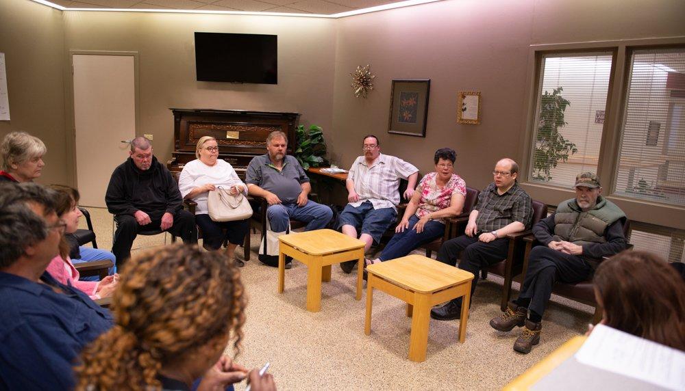 Şizofreni hastaları için bir destek grubu